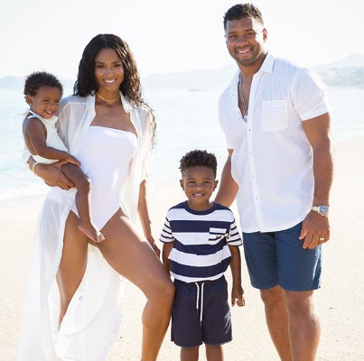 You Bring Love, Joy, Peace And So Much Faith To Our Family – Russell Wilson Says As He Celebrates Wife Ciara On Her Birthday Today