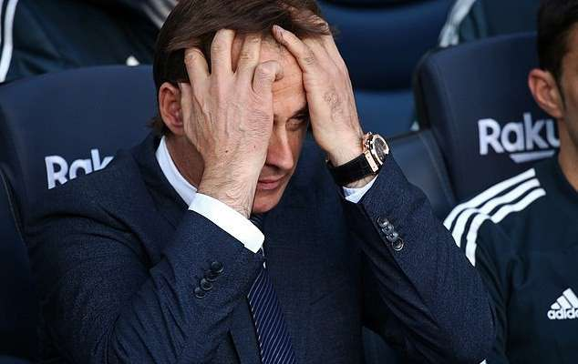 Breaking! Real Madrid Sack Manager Julen Lopetegui After Humiliating 5 – 1 Defeat To Barcelona