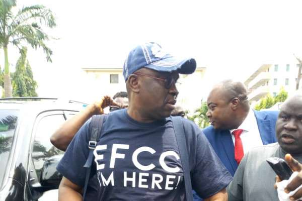 Fayose Reportedly Struggles To Meet Bail Conditions, Spending Weekend In Prison