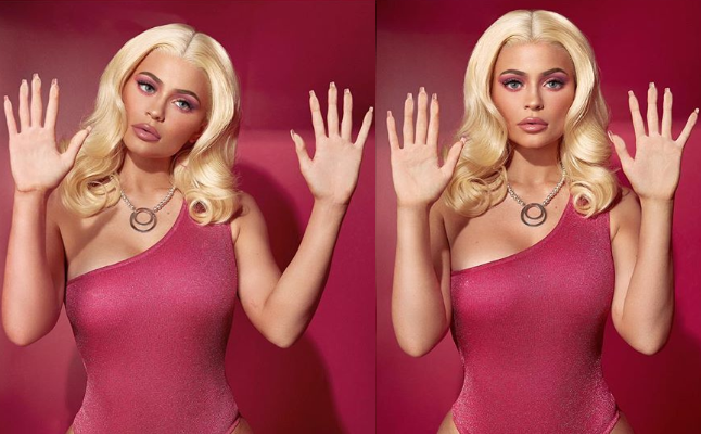Kylie Jenner Shows Off Her Stunning Barbie Halloween Costume (Photos)