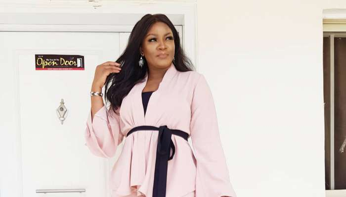 Omotola Jalade-Ekeinde Is Stylish In This Two-Piece