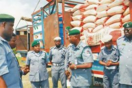 "In Its Continuous Fight Against The Menace Of Drug Trafficking And Abuse Of Drugs, The Nigeria Customs Service On Thursday Intercepted 40 Feet Containers, Loaded With Tramadol And Other Dangerous Drugs From India Worth N7.318 Billion.  The Announcement Of The Seizure Was Made By Comptroller General Of Customs, Col. Hameed Ali (rtd), And It Was Further Gathered That Customs Officers Also Intercepted A Helicopter And An Aircraft From The United States Of America Over Failure To Provide End-User-Certificate And Other Documents.  Attempt By The Importers To Bribe Customs Officers With Over $400,000 (about N150million), To Effect The Release Of Just One Container Out Of The 40 Seized, It Was Gathered, Was Rebuffed By The Officers. Col. Hameed Ali (rtd) Who Spoke To Journalists, Disclosed That Three Suspect, Including Customs Officers, Who Cleared The Containers Have Been Arrested For Further Investigation.     ""The NCS Is Making Concerted Efforts To Ensure That Not Only Maximum Revenue Is Collected, But Also To Safeguard The Security And Well-being Of The Citizenry.  ""We Are All Aware Of The Dangers That The Deliberate Non-compliance To Import And Export Procedures Pose To Our Country As Importers Bring In All Manner Of Items Which Put The Security And Health Of The Country At Great Risk.  ""Terrorists, Kidnappers And Other Criminal Elements Get Hold Of These Un-custom Goods Such As Controlled Drugs To Perpetrate Their Heinous Activities. It Is In Line With The Determination To Fight This Ugly Trend That The Apapa Command Of The Service Intercepted 40 By 40 Feet Containers, Mostly From India, Laden With Tramadol And Other Pharmaceutical Products With A Duty Paid Value (DPV) Of N7,318, 978, 065.00.""  He Added: ""The Service Achieved This Feat Through Vigilance And Intelligence Gathering Within The System As Well As Information From The National Agency For Food And Drug Administration And Control (NAFDAC), Which Is A Strong Ally Of The Nigeria Customs Service (NCS). I Commend The Director General Of NAFDAC, Prof. Monisola Adeyeye, And Her Management Team For Their Collaboration In The Attainment Of This Feat"" He Said.  He Further Disclosed That The One Of The Helicopters With Registration Number SN-BLI Was Intended For Export, And Was Concealed In Container Number PONU7789246, While The Second Helicopter, A Cessna 182A, Was Imported Into The Country From The United States Of America For Unknown Assignment.  Col. Hameed Revealed That The First Helicopter Was Falsely Declared As 388 Bags Of Cashew Nuts, While The Second Was Concealed In Container Number MRKU 4457663 Before They Were Intercepted By Some Vigilant And Patriotic Officers Of The Command.  BLACK FRIDAY DEALS: Enjoy 60% Off Shoes, Bags, Wears, More"