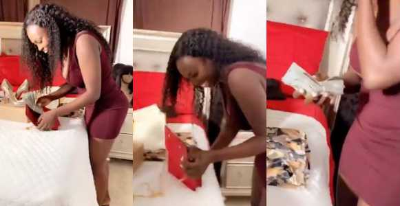 Man Surprises Girlfriend With Purse Full Of Money, Yacht Party And 3200 Roses On Her Birthday (Photos/Video)