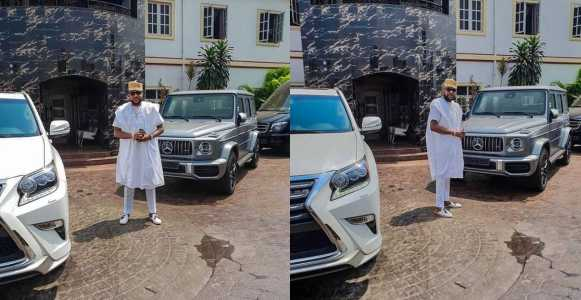 E-Money Shows Off His Newly Acquired 2019 Mercedes-Benz G-wagon (Photos)