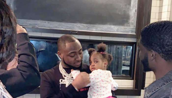Davido Holds Birthday Dinner With Family In The United States (Photos)