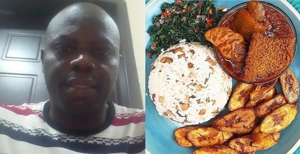Nigerian Man Reveals Why He Rejected The Meal His Wife Made For Him