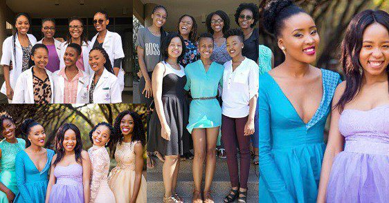 7 Female Friends Qualify As Medical Doctors In South Africa