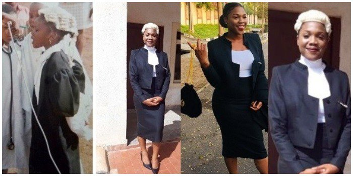 Lady Becomes A Lawyer Many Years After She Dressed As One For Her Primary School's Career Day
