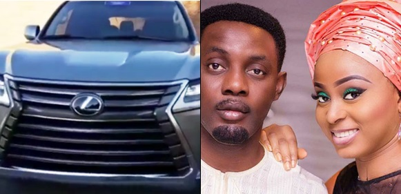 Comedian AY Buys A Brand New Lexus Luxury SUV As Wedding Anniversary Gift For Wife Mabel (Video)