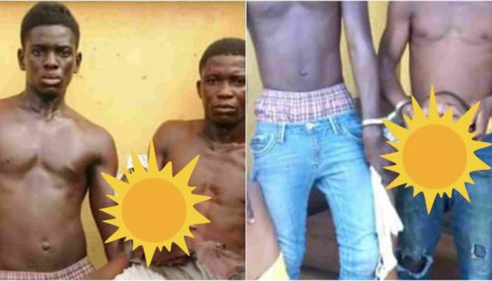 Two Teenage Brothers Arrested With Human Head In Lagos (Graphic Photos)