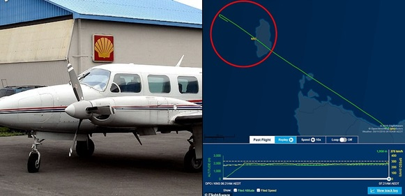 Plane Flies Nearly 50km Past Its Destination After The Pilot 'falls Asleep  In The Cockpit'