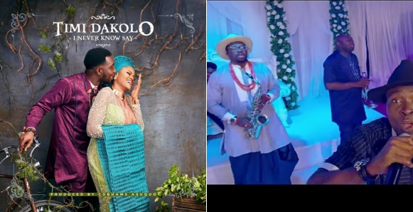 Timi Dakolo Portrays Typical Nigerian Wedding In New Song 'I Never Know Say' With 2Baba, Alibaba, Bovi, Others (Video)
