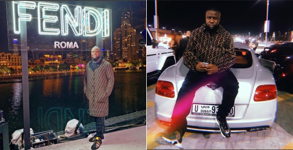 Hushpuppi Dines With Strong Societal White Personalities As Fendi Invites Him For Dinner