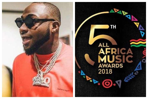 Davido Wins Artist Of The Year At AFRIMA Awards [Full Winners List]