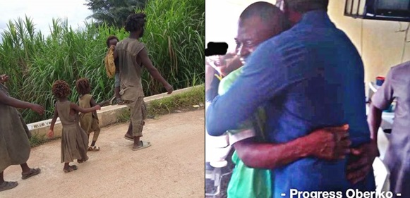 See New Pictures Of Family Of Five Plagued With Madness In Cross River