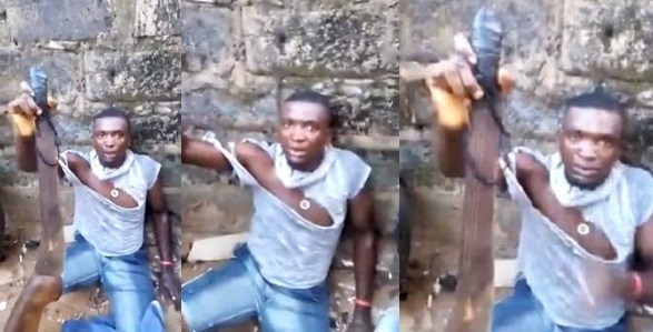 """""""When I Hold This Charm, Nothing Can Penetrate Me"""" – Robbery Suspect"""