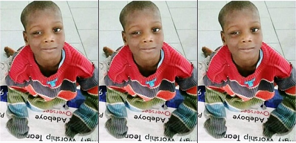 Special-Needs Child Abandoned At RCCG Redemption Camp By His Grandmother (Photo)