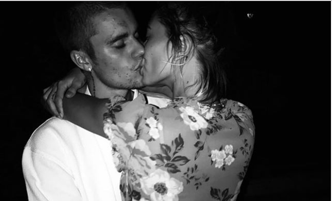 Justin Beiber And Wife Hailey Baldwin Share A Kiss In New Loved-up Photo