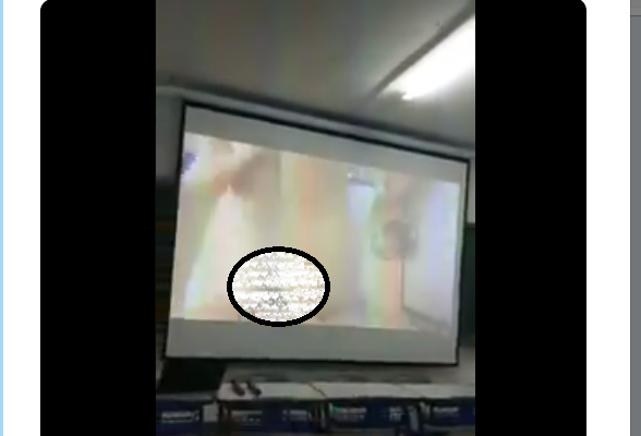 Video: University Lecturer Mistakenly Plays Hardcore Porn In Class During A Presentation.. 18+
