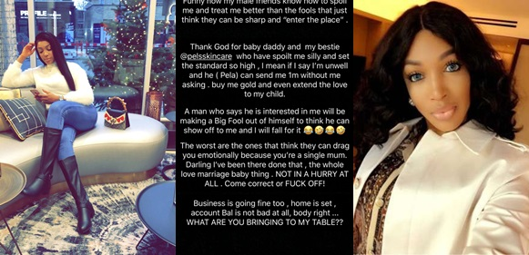 Dabota Lawson Slams Men Who Try To Take Advantage Of Her As A Single Mom