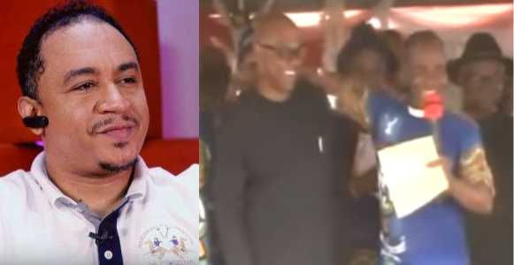 Daddy Freeze Reacts To Video Of Father Mbaka Disgracing Peter Obi For Refusing To Donate Money To His Ministry