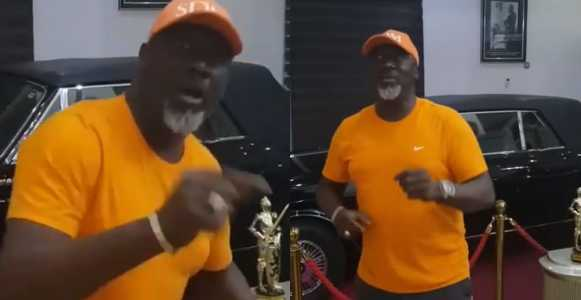 Dino Melaye Trolls President Buhari In New Hit Song (video)