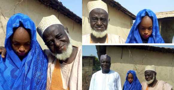 70-year-old Man Marries 15-year-old Girl In Niger State (Photos)