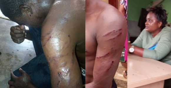 Police Arrest Woman Who Ordered Her Thugs To Brutalize Gateman For Demanding His Salary