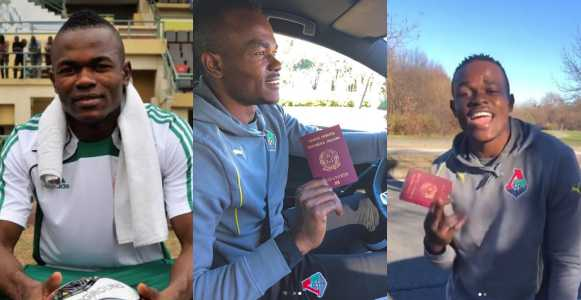 Former Super Eagles Striker Obinna Nsofor Celebrates As He Becomes A Citizen Of Italy (Photos)