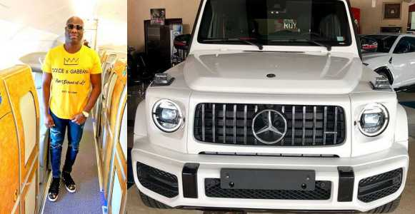 Mompha Buys 2019 Mercedes G-Wagon Worth ₦100 Million (Video)