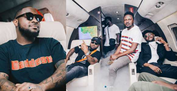 'I Apologize For Doing Nothing' – Davido Reacts To Allegations That He Slapped Kizz Daniel's Manager