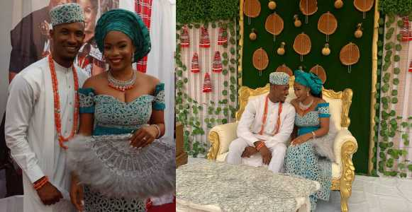 First Photos From Actor Gideon Okeke's Traditional Wedding