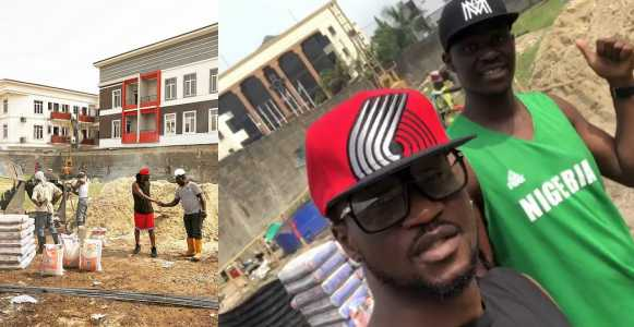Paul Okoye Building A New Mansion In Parkview, Ikoyi (Photo/Video)