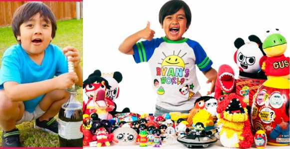 7-year-old Ryan ToysReview Becomes Highest Paid YouTuber Of 2018 After Making £17m In One Year