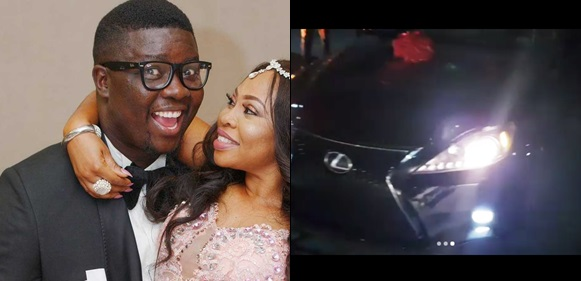 Seyilaw Surprises Wife With A Lexus To Celebrate Her Birthday(video)