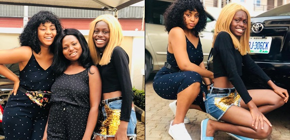Actress Regina Daniels Shares Cute Photos Of Her Sisters