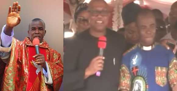 Why I 'embarassed' Peter Obi – Rev. Father Mbaka Finally Reacts