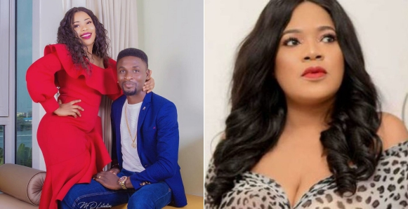 Adeniyi Johnson's New Boo Reacts To The Divorce Crisis With Ex-Wife, Toyin Abraham