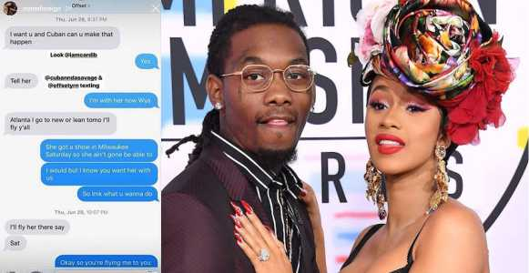 See The Leaked Chat That Caused Cardi B And Offset's Divorce