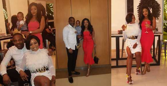 Photos From Laura Ikeji's Husband Ogbonna Kanu's Birthday Dinner