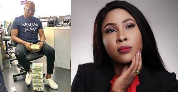 Mompha Calls Out Actress Charity Nnaji For Calling Him Stingy After Begging For Money