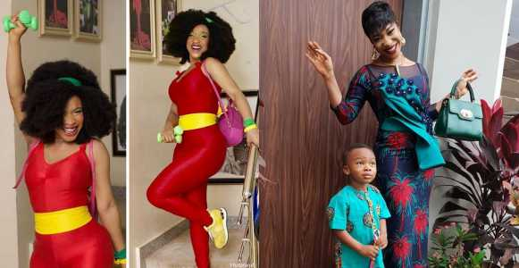 I Will Slap My Son Even At 18 If He Comes Home With Earrings – Tonto Dikeh