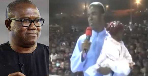 'Please Forgive Me' – Rev. Fr. Ejike Mbaka Publicly Apologizes To Peter Obi For Disgracing Him (Video)