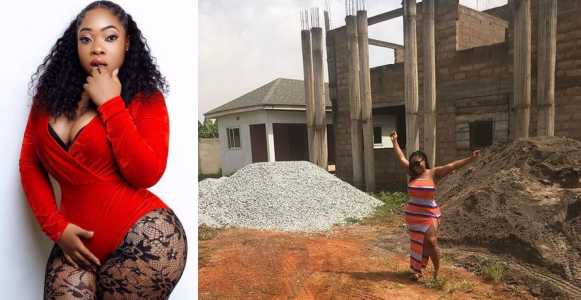 Ghanaian Actress Moesha Boduong Accused Of Sleeping With Married Men After Showing Off New House