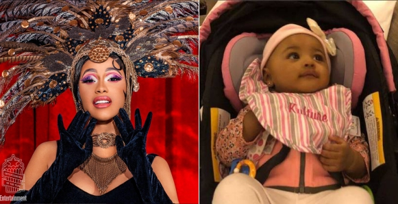 Finally, Cardi B Unveils Her Daughter Kulture To The World A Day After Announcing Her Break Up With Offset