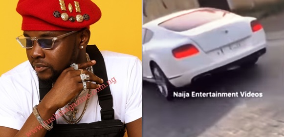 Kiss Daniel Acquires A Brand New Bentley, Months After Buying A Mansion
