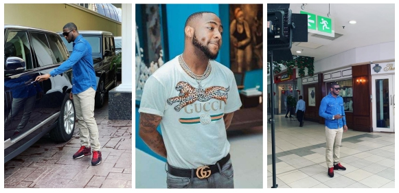 Davido's Attempt To Troll Peter Okoye Backfires