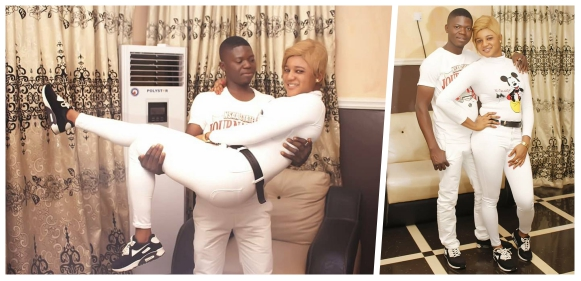'In Life, Never Say Never' – Lady Gushes About Her Fiance In Pre Wedding Pics