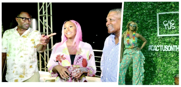 Dangote, Otedola, Other Celebrities Party With DJ Cuppy At Cactus On The Roof