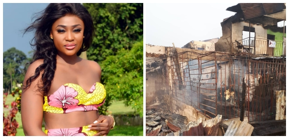 Actress, Lizzy Gold's Mother's N10M Shop Razes Down